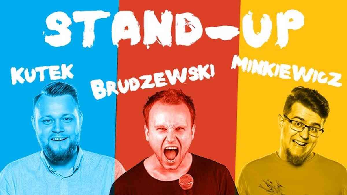 Stand-up Łódź | Brudzewski, Kutek, Minkiewicz