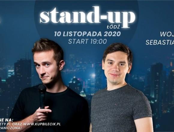 Stand-up Łódź: Wojtek Pięta, Sebastian Rejent