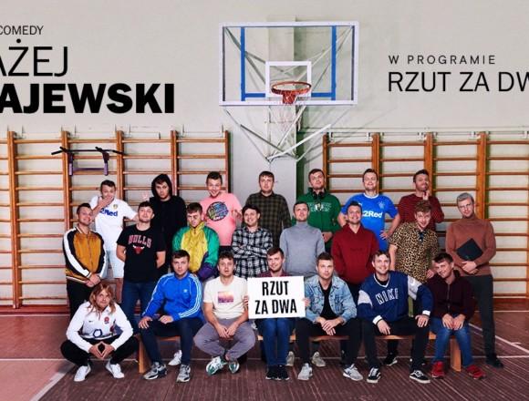 """Stand-up: Błażej Krajewski """"Rzut za dwa"""" • Łódź"""